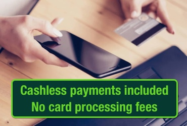 No Card Processing Fees